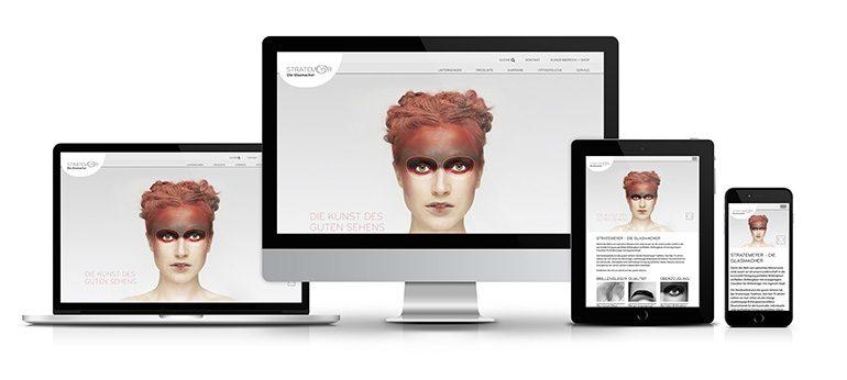 Stratemeyer Responsive Website