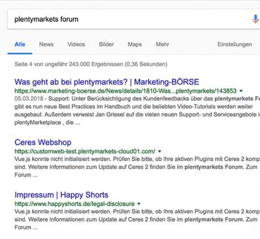 Frag Google … oder das Forum