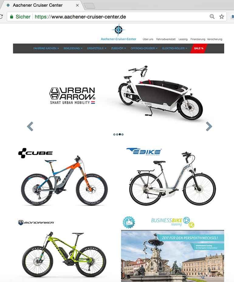 aachener-cruiser-center,de – Shop für Fahrräder, Quads und eBikes